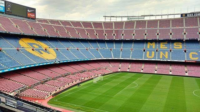 Clásico Barça Madrid a vista de dron