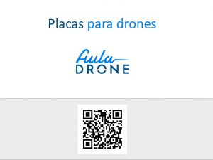 placas para drones