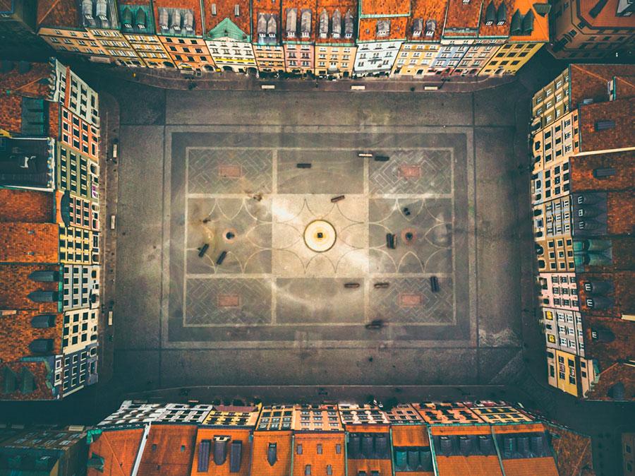 Categoría fotografía con dron con el covid19 2