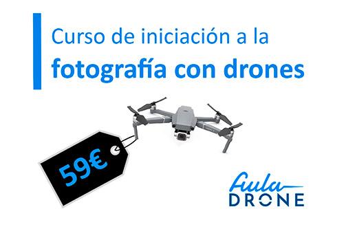 curso de fotografía con drones