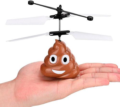 dron caquita voladora