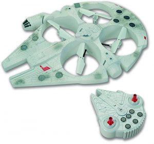 dron halcón milenario 4 hélices