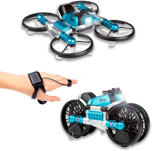 dron moto desplegable