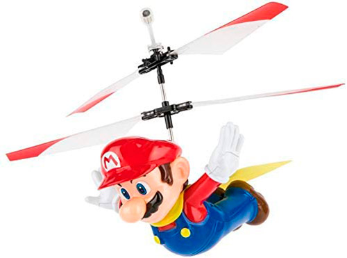 dron supermario volando