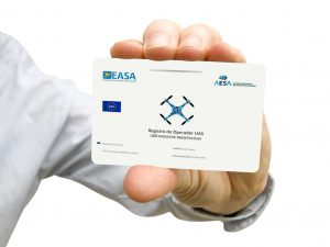 tarjeta registro operador AESA